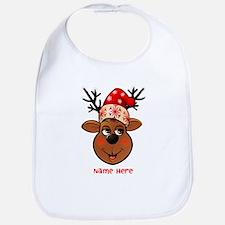 Reindeer Bib