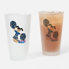 Cheerleader Medium Drinking Glass