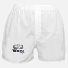 Proud Airborne Wife Boxer Shorts