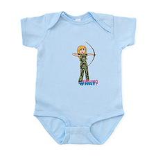 Archery Girl Camo Light/Blonde Infant Bodysuit