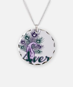 AVERY-peacock-purpleTEAL Necklace