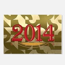 2014 golden Postcards (Package of 8)