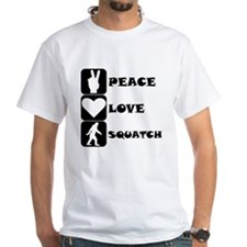 Peace Love Squatch T-Shirt