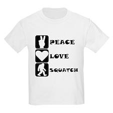 Peace Love Squatch T-Shirt