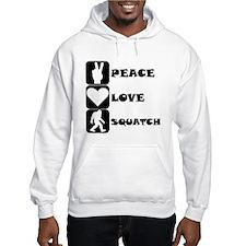 Peace Love Squatch Hoodie