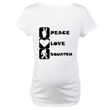Peace Love Squatch Shirt