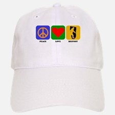 Peace Love Bigfoot Baseball Baseball Baseball Cap