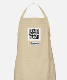 Bitcoin Accepted Here Apron