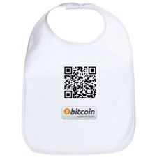 Bitcoin Accepted Here Bib