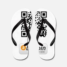 Bitcoin Accepted Here Flip Flops