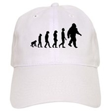 Bigfoot Evolution Baseball Baseball Cap