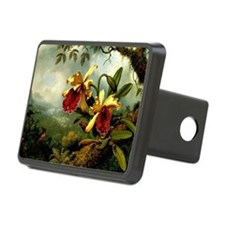 Orchids and Hummingbird, v Hitch Cover