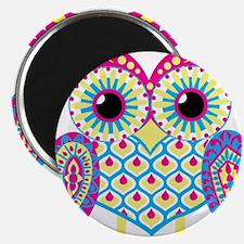 Owl highlight Magnet