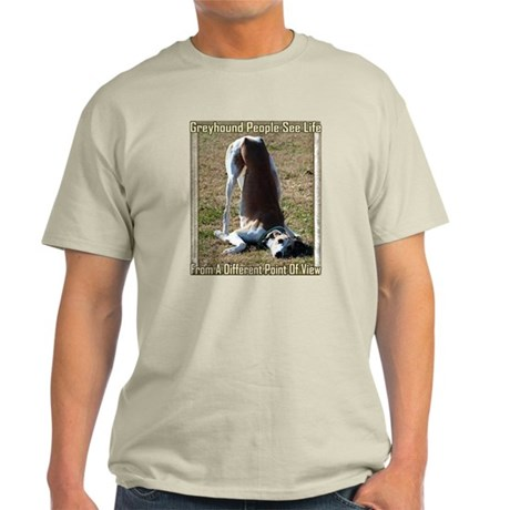 DIFFERENT POINT OF VIEW MENS NATURAL TEE