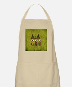 THE STOCKINGS WERE HUNG... Apron