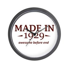 Made in 1929 Wall Clock