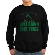 MSU Row Bowl Green Ax Sweatshirt
