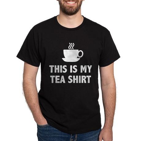This Is My Tea Shirt Dark T-Shirt