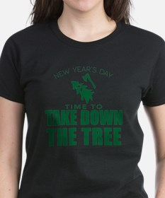 MSU Rose Bowl Green Tree Tee