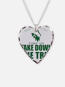 MSU Rose Bowl Green Tree Necklace