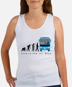 evolution of man bus driver Tank Top