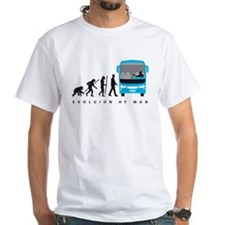evolution of man bus driver T-Shirt