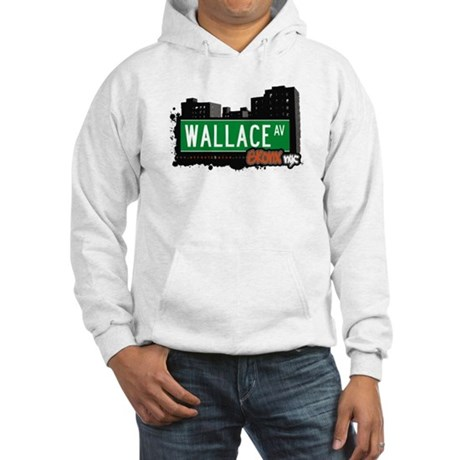 Wallace Av, Bronx, NYC Hooded Sweatshirt