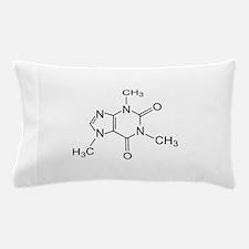 Caffeine Molecule Pillow Case