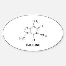 Caffeine Molecule Decal