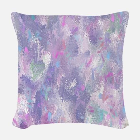 Spring Illusion Abstract Woven Throw Pillow