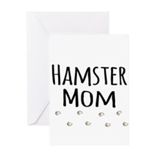 Hamster Mom Greeting Cards