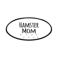 Hamster Mom Patches