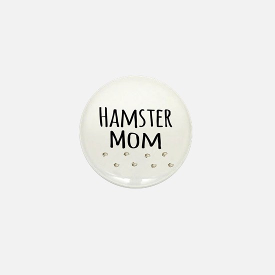 Hamster Mom Mini Button (10 pack)