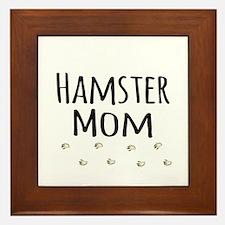 Hamster Mom Framed Tile