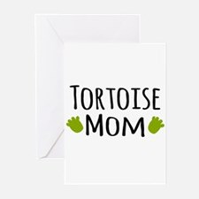 Tortoise Mom Greeting Cards