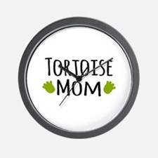 Tortoise Mom Wall Clock