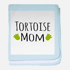 Tortoise Mom baby blanket