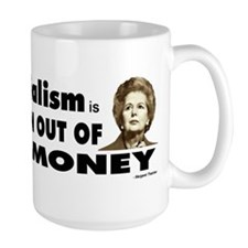 Thatcher Socialism Quote Mugs