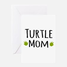 Turtle Mom Greeting Cards