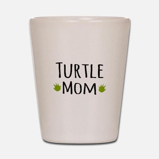 Turtle Mom Shot Glass