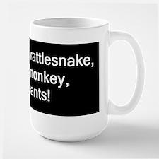 monkey, monkey, underpants Coffee Mugs