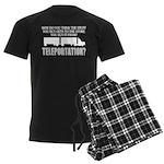 Teleportation Truck Driver Men's Dark Pajamas