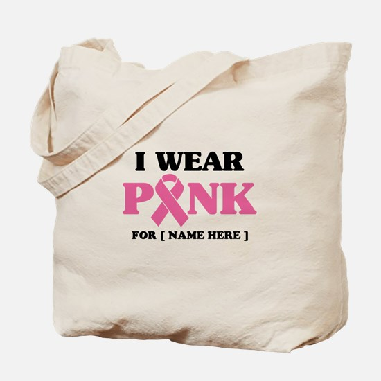 Breast Cancer Cause Tote Bag