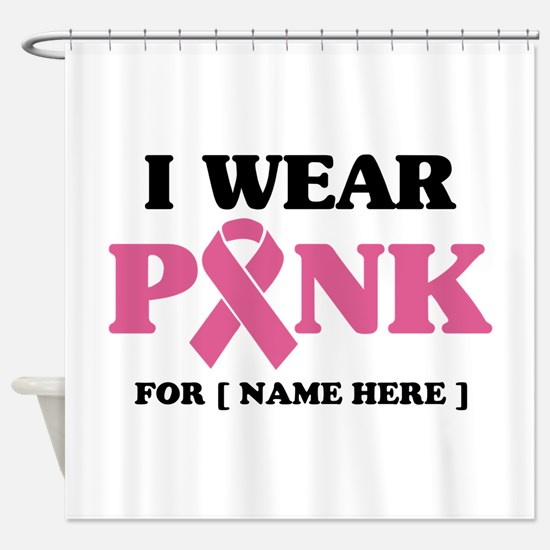Breast Cancer Cause Shower Curtain
