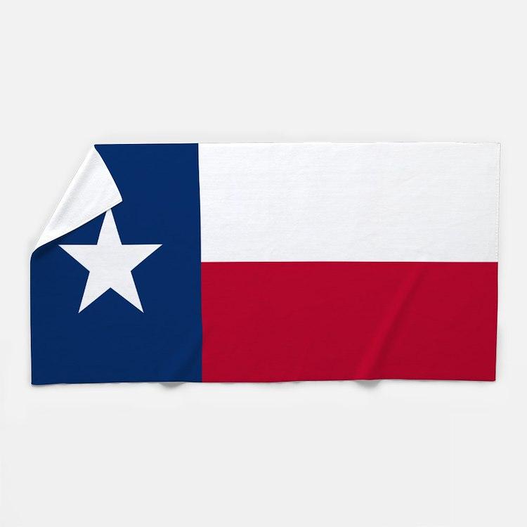 Texas Flag Beach Towel