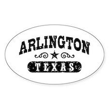 Arlington Texas Decal