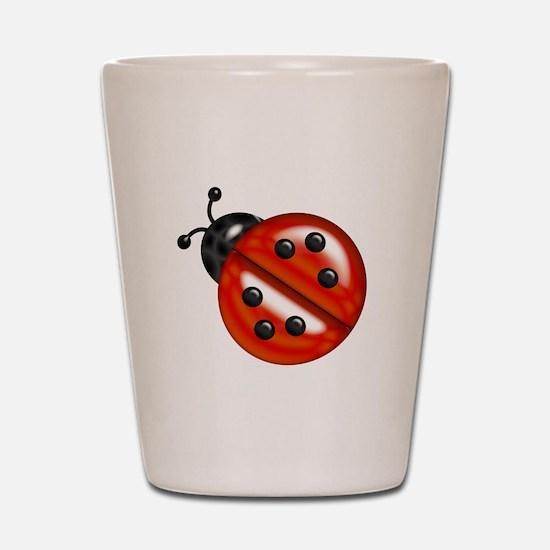 Cute Ladybug Shot Glass