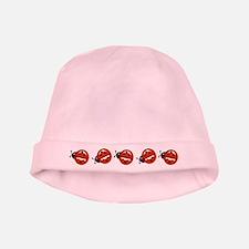 Cute Ladybug Baby Hat