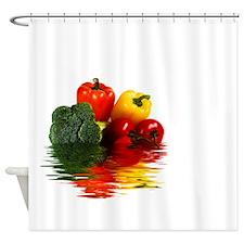 Medley of vegetables Shower Curtain