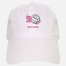 Personalized Volleyball Girl Baseball Baseball Cap